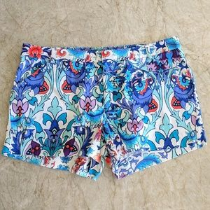 Nicole by Nicole Miller Floral Shorts Size 12